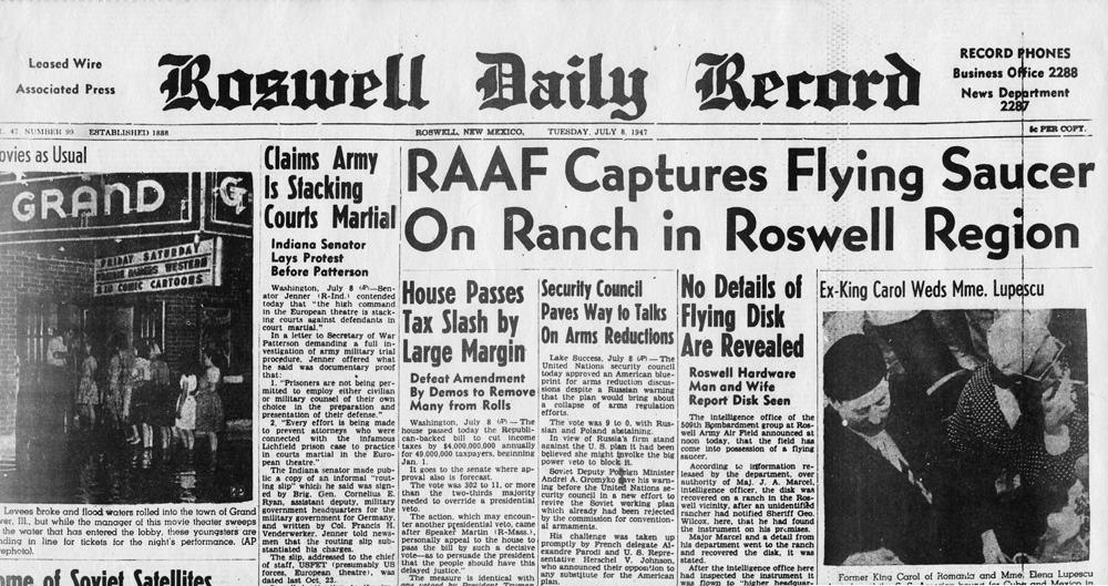 roswell-teksty po angielku poziom B2 gettinenglish ufo